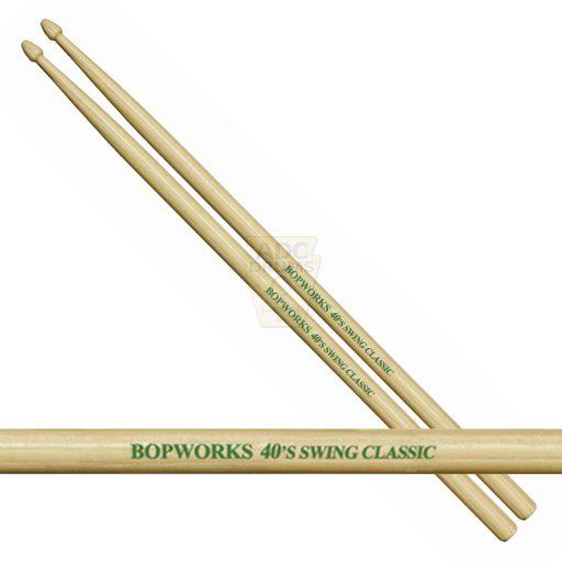 Bopworks 40's Swing Classic drumsticks